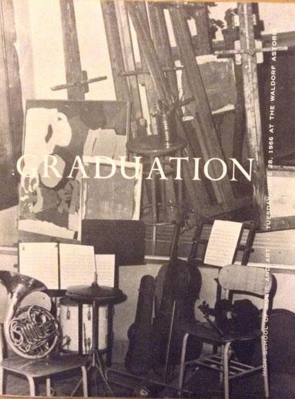 1966-memorabilia-graduation-program
