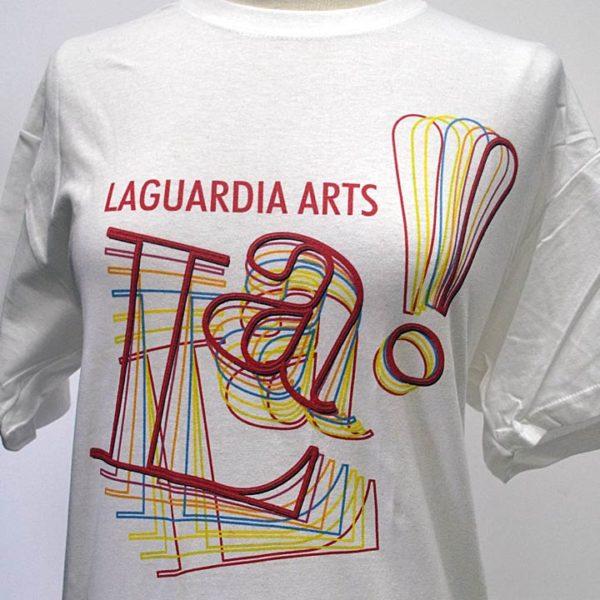 LA! White T-shirt