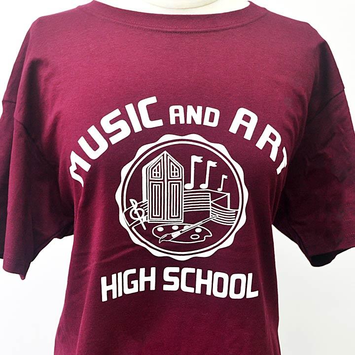 M&A Maroon T-shirt