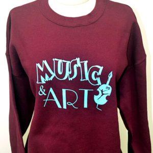 M&A Maroon Sweatshirt
