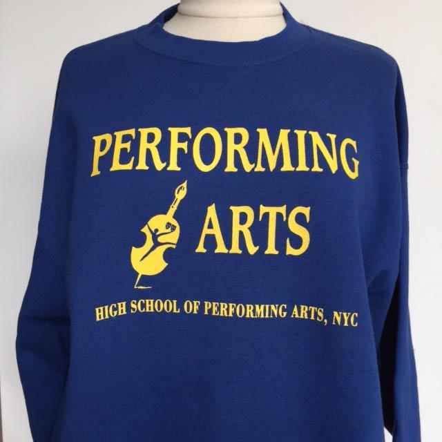 Performing Arts sweatshirt