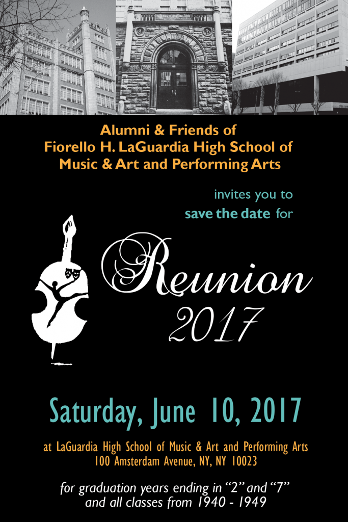 2017 Reunion Save the Date