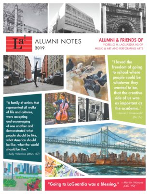 2019 Alumni Notes Newsletter