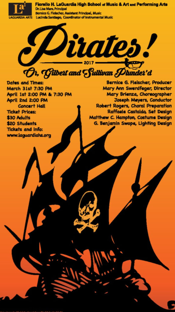 Pirates of Penzance LaGuardia Opera